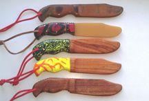 Тренировочные ножи / training knife wood