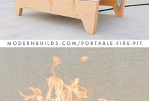 DIY Firepits / Concrete, metal, and other cool DIY firepits.