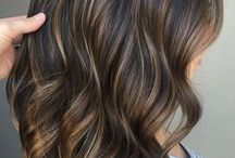 Balayage-barvy vlasy