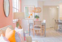 Beach Living Room / Beach living room inspiration!