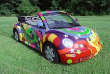 Beetle Bugs (VW's) / The classic beetle bugs (Volkswagon) / by Donna Lovett