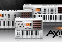 M-Audio / Didirikan di sebuah garasi di Altadena, California, pada akhir tahun 1980-an. Dimulai dari mendesain dan menghasilkan interface serta perangkat sinkronisasi untuk MIDI beserta sistem sinkronisasi time code, perusahaan kemudian dikenal dengan nama Midiman, dan sekarang menjadi M-Audio, yang sekarang telah berkembang menjadi produsen utama segala sesuatu hal mulai dari MIDI controller keyboard untuk audio interface dan referensi monitor.