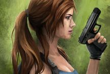 l / lara croft goddess ...