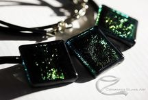 Dichroic glass jewelry / Dichroic üveg ékszerek