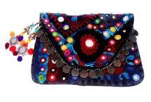 Bolsas artesanais / artesanato, costura, crochê e bordados