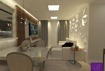 #byquestarc Sala de jantar - Dinning Room / Projeto Autoral Quest Arquitetura Criativa.
