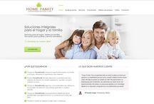 Web para Home & Family / Web para la agencia de contaratación de personal Home & Family. http://www.homeandfamily.es