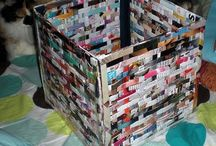 Recycled Art / Recycled items turned into beautiful art!