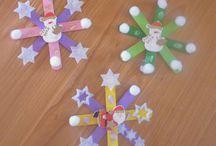 Étoile noel / Bâton esquimau étoile