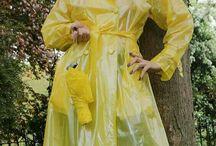 PVC Plastic Kleidung