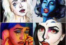 Characterization makeup