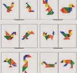 infantil × tangram