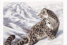 borduren leopard