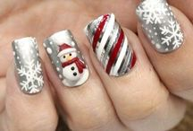 18 Ideas Of Christmas Nail Design /  nail art ideal - that are trending hot right now