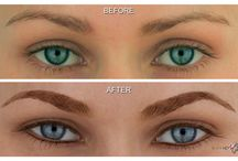 Eyeliner: MicroArt Semi Permanent Makeup / 100% smudge proof eyeliner that last up to 3 years!