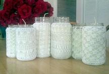 Pot recouvert crochet