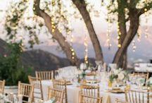 Wedding table simple ideas