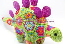 stegosaurus chrochet
