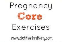 pregnancy excercises