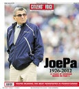 Joe Paterno Newspaper Fronts / by Buffy Andrews