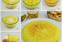 Recetas de cocina / Estas  recetas   las  vamos a intentar  hacer