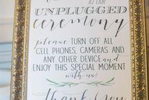 Wedding Sign Mood