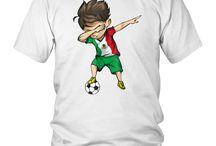 Dabbing Soccer Boy Mexico Jersey Shirt - Mexican Football