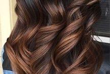 Цвета каштановых волос