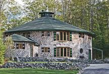 cordwood home samples