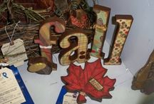 My Paper Craft Projects / A collection of my paper craft projects. Scrapbook layouts, hand made cards, home decor, etc.