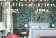 House and Garden November Cover and Feature / A fantastic 10 page article featuring Edward Bulmer's  home. Showcasing beautiful Edward Bulmer Natural Paint and his creative flair.