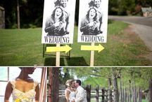 Wedding signs   Hochzeitsschilder / by Evet Ich Will