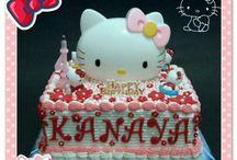 Hello Kitty Birthday Cake / Birthday Cake