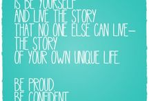 Quotes / by Madeline Gilbertson