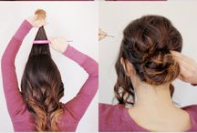 Hairstyles I want to try!!  / Up do's, braids, and buns