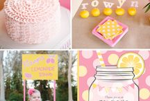 Lemonade ★ Sweet Tables + party ideas / sweet tables lemonade