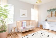 New Baby / Creating cool spaces from little places! Cute nursery ideas and tips for those of us who have never done this thing.