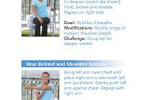 MS Stretches / Stretches that patients with Multiple Sclerosis can do after an exercise workout. / by Never Give Up Fitness