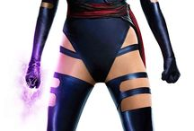 Cosplay Project:  Psylocke / A custom costume design of Psylocke from X-men Apocalypse.  This project was a custom order for a customer.