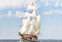 De schepen van NAUPAR / Zie hier de traditionele zeilschepen van NAUPAR. Met een grote verscheidenheid aan schepen en 16 thuishavens in Nederland, is er voor elke gelegenheid een passend schip.