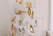 scarpe in vetrina
