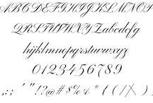 Betűtípusok/Types of letters