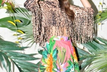 Glam Safari / Go boho in glamorous tropical style! Mix up muted colors or prints and ferry off to Africa or any exotic country that allows layers and skin at the same time!  http://www.thestylecebu.com / by The Glamarazzi