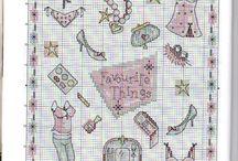 Cross Stitch - Clothes & shoes