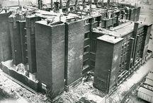 The Larkin Building / Office building by Frank Lloyd Wright