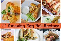 Egg Rolls, Pot Stickers, Wontons, and Crab Rangoon Recipes