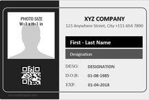 MS Word ID Card Templates