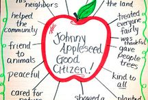 Apples / Ideas for teaching about Apples and Johnny Appleseed