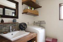 風呂  脱衣所