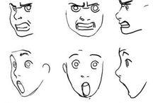 expressões da cara